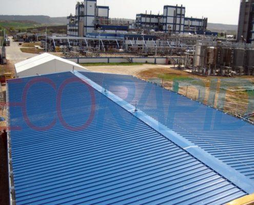 Alquiler taller prefabricado centro productivo ECORAPID