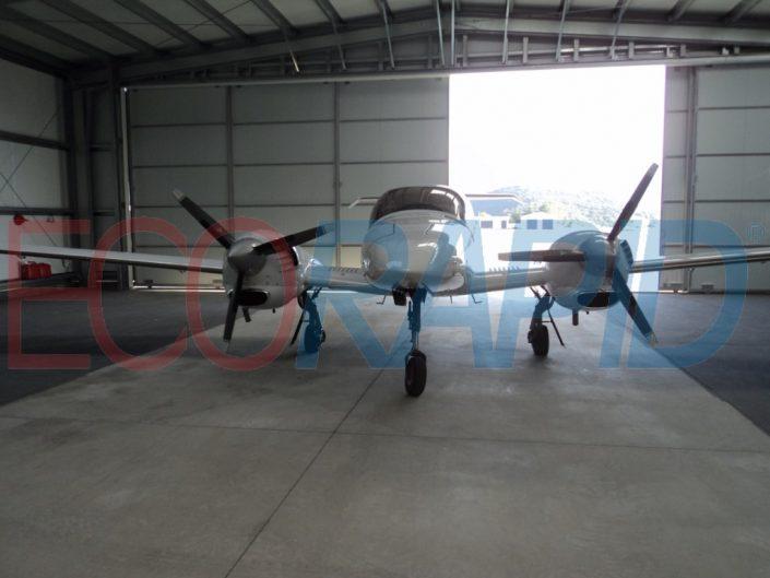 Leasing hangar metalico modular ECORAPID