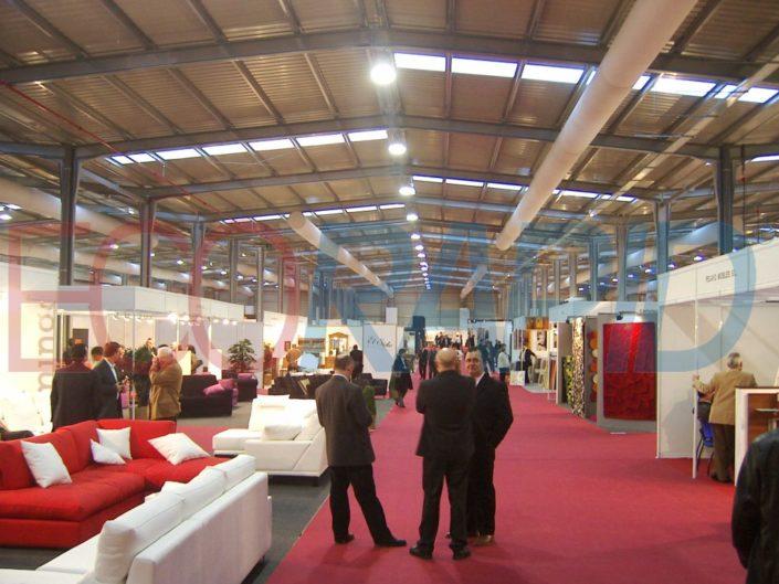 Nave ECORAPID desmontable Feria de Zaragoza Feria del Mueble